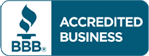 BBB icon representing the business accreditation of Bactronic, a mold treatment company that services Pittsburgh, PA